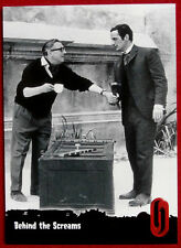 HAMMER HORROR - Series One - Card #66 - BEHIND THE SCREAMS, PRINCE OF DARKNESS