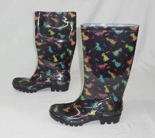 The Animal Rescue Site Women's Dogs Galore Ultralite Rain Boots MM1 Size 7