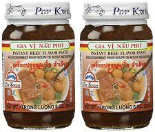 Por Kwan Pho Vietnemese Beef Flavor Paste 8 oz x 2 Jars