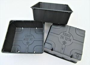 48 Saatschalen TK1214 Anzuchtschalen Transportplatte Untersetzer Pikierschalen
