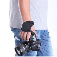 New PU Leather Hand Grips Camera Wrist Strap for Canon EOS DSLR SLR Nikon Sony W