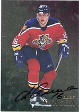98-99 BE A PLAYER BAP SIGNATURE AUTOGRAPH AUTO #210 OLEG KVASHA PANTHERS *35310
