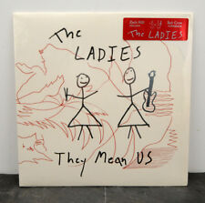 RARE The Ladies - They Mean Us Ltd. Edition White Vinyl SEALED MINT LP Pinback