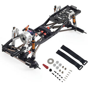 313mm Wheelbase Metal Chassis Frame for 1/10 RC Crawler Axial SCX10 II 90046 A2U