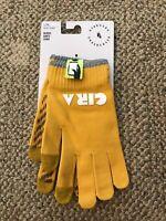 Nike NikeLab Gyakusou Undercover Tech Grip Knit Gloves Yellow Size L/XL Unisex