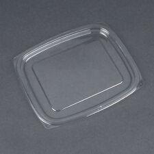 Dart C32DLR, ClearPac Clear Rectangular Flat Plastic Lid, 504/Cs