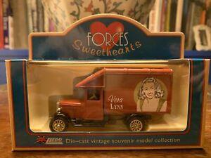 Lledo Forces Sweethearts Vera Lynn Delivery Truck Model Die-cast Vintage