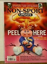 Rare Non-Sport Update Magazine June/July 2019 Garbage Pail Kids Adam Bomb! Mint!
