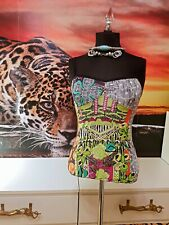 Save the Queen túnica señora multicolor Stretch top Casual look talla XS-S