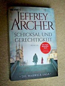 Jeffrey Archer: SCHICKSAL UND GERECHTIGKEIT - TB 2019 - Warwick Saga Bd. 1