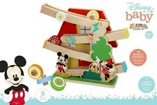 PISTA COCHES MADERA 29 CM-MICKEY - Colorbaby