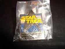 Star Trek 25th Anniversary Marathon Collectors Pin New / Sealed Enamel 1991