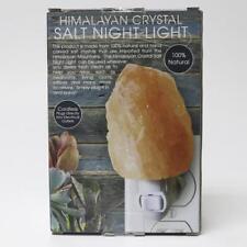 Natural Himalayan Ionic Rock Crysral Salt Lamp Air Purifier Glow Night Light