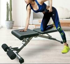 Weight Workout Folding Bench Strength Training Fitness Sit ups Home Adjustable