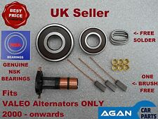ARK109 NEW REPAIR KIT FOR VALEO ALTERNATOR Slip rings Brushes Brush Set 2000 on