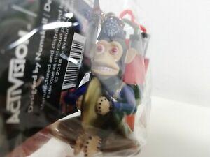 Call of Duty Monkey Bomb Vinyl Figure Keyring New Zombies Cymbal Monkey Rare New