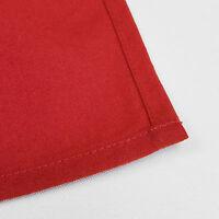 Hemmed Edge 20 x 20 Inch Square Spun-Polyester Dinner Napkins