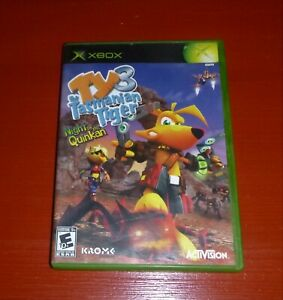 Ty the Tasmanian Tiger 3: Night of the Quinkan (Microsoft Xbox, 2005) -Complete