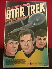 Star Trek 1975 Vintage Colorforms Complete Excellent Display Condition