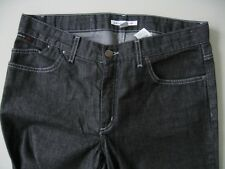 KARL LAGERFELD for H&M Collab Black Jeans sz 12 straight leg 5 pocket pants