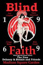 Classic Rock: Blind Faith  Madison Square Garden Concert Poster 1969