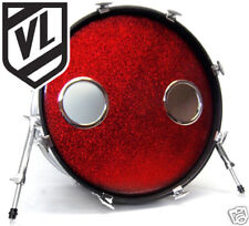 "5"" Bass Drum Head Mic Hole Kick Port DRUM O's ring - Choose from 3 colors"