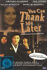 DVD NEU/OVP - You Can Thank Me Later - Schmerzhafte Wahrheiten - Amanda Plummer