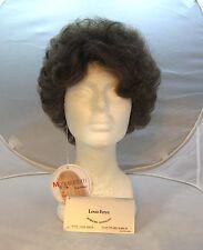 LOUIS FERRE Wig - Medium Brown & Grey - Style 7006 Erica - New in Box