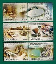 2009 MALAYSIA ENGINEERING EXCELLENCE IN NATION BUILDING (6v) MNH