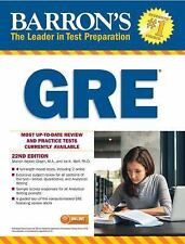 Barron's Gre, 22nd Edition by Sharon Weiner Green M.A. and Ira K. Wolf (2017,.