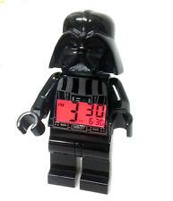 "Lego STAR WARS Darth Vader 10"" Mini figure Light Up Alarm Clock TOO COOL!"