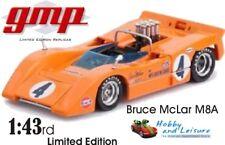 GMP 1/43rd Scale Bruce McLaren M8A Limited Edition. #12421 BNIB. Very Rare.