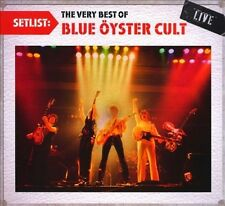 SETLIST: THE VERY BEST OF BLUE ™YSTER CULT LIVE [DIGIPAK] NEW CD