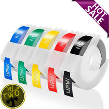 Label Maker Embossing 3D Label Tape 9 mm x 3 m Compatible Dymo Omega Home S071