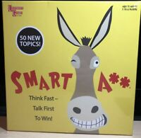 SMART ASS Board Game The Ultimate Trivia Game NEW University Games 01359 Sealed