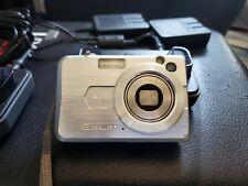 Casio EXILIM ZOOM EX-Z850 8.1MP Digital Camera - Silver -