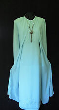 CONDICI Blue Size 18 20 Ladies Designer Wedding Dress & Sheer Coat Jacket Outfit