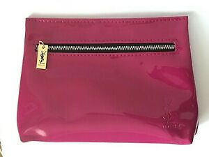 YSL Yves Saint Laurent Cosmetic MAKEUP Toiletry Bag CASE Pouch