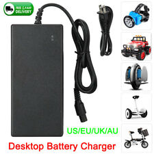 63V AC DC Battery Charger Power Adapter for Scooter Hoverboard Balance Board UK