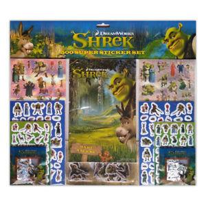 Dreamworks Shrek 500 Stickers Set 8001