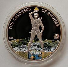 "PALAU: 1 Dollar 2009 ""THE COLOSSUS OF RHODES"", PP, Proof"