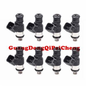 8PCS 0280158051 Fuel Injector For Corvette LS3 L99 10-15 Camaro SS 06-13 LS7 Z06