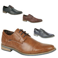 MENS FORMAL ITALIAN SHOES NEW SMART FORMAL OXFORD WEDDING OFFICE SHOES SIZE