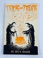 RARE Vintage 50's Magic Book Halloween TRICKS AND TREATS by Ben Braude