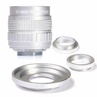Fujian 50MM F/1.4 CCTV Lens for Fujifilm Fuji X Mount X-Pro1 X-Pro2 XE1 XE2 XA1