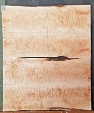 Figured Flame Quilted Maple Wood 11672 Four piece Craftsman lumber 24x 28x .375