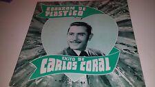 EXITO DE CARLOS CORAL - CORAZON DE PLASTICO - DEL MAR 1004 SEALED LP