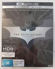 The Dark Knight Trilogy - 4K UltraHD + Blu-ray - 3 movies 9 discs - still sealed