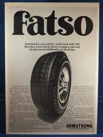 Vintage Magazine Ad Print Design Advertising Armstrong Tires