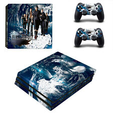 Final Fantasy XV FF15 Vinyl Skin Sticker for Sony PS4 Pro Console & Controllers